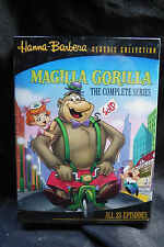 HANNA-BARBERA CLASSICS-MAGILLA GORILLA: COMPLETE SERIES-NEW/SEALED 2 DVD SET!