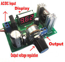 New LM317 Adjustable Voltage Regulator Step-down Power Supply Module LED Meter