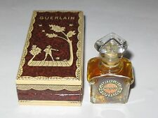 Vintage Guerlain Mitsouko Perfume Bottle & Box 1/4 OZ - 7.5 ML - Unused/Full