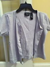 Crazy Horse Light Blue Knit Top In Size Small