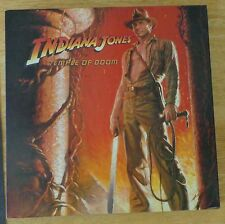 INDIANA JONES AND THE TEMPLE OF DOOM movie JIGSAW PUZZLE vintage 1984