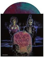 The Return Of The Living Dead OST Blue w/ Blood Red Haze Vinyl Record 635 Copies