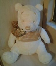 Disney Winnie the Pooh Pooh Teddy Bear Cream Gold Plush 21""
