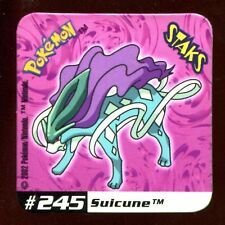 STAKS MAGNET AIMANT POKEMON N° 245 SUICUNE E