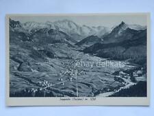 SAPPADA Belluno Cadore panorama m. 1250 Dolomiti vecchia cartolina
