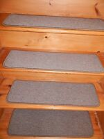"""13=STEP 9""""X 30"""" Stair Treads Staircase Step WOVEN CARPET + LANDING 26'' X 30''"""