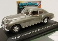 BENTLEY R TYPE CONTINENTAL FRANAY 1954 SILVER PLATA 1/43 Yat Ming
