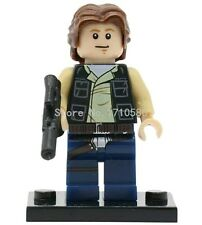 Han Solo minifigure Star Wars + lego pieces UK PLEASE READ