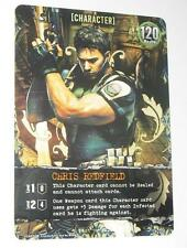 Resident evil Deck Building Game Promo Card Chris Redfield