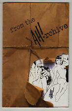 "ADAM HUGHES ""from the AH!rchive"" SKETCHBOOK SIGNED NEAR MINT AUTOGRAPHED"