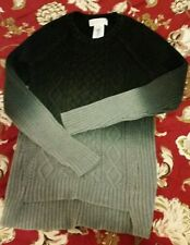 Michael Kors black gray Ombre Sweater Size S