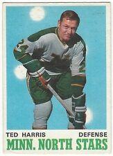 1970-71 OPC HOCKEY #166 TED HARRIS - EXCELLENT-