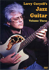 Larry Coryell's Jazz Guitar Volume 3 Learn to Play Blues Lesson Tutor Music DVD