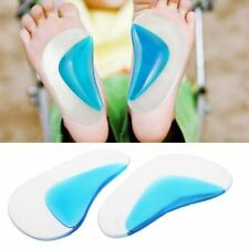 1 Pair Foot Care Orthopedic Orthotic Arch Support Insole Flatfoot Correction