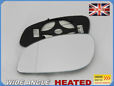 Wing Mirror Glass VAUXHALL VECTRA C 2002-2009  Aspheric HEATED Left Side #F021