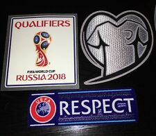FIFA 2018 WM PATCH BADGE WORLD CUP RUSSIA QUALIFIERS