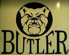 2 BUTLER BULLDOGS NCAA Cornhole Decal - Window Vinyl Decals