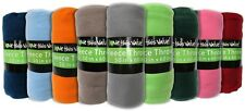 "48 Pieces - Wholesale Pricing  50""x60"" Fleece Blankets Multi-Color NEW"
