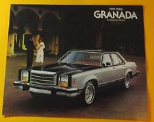 1979 FORD GRANADA SHOWROOM SALES BROCHURE..12-PAGES
