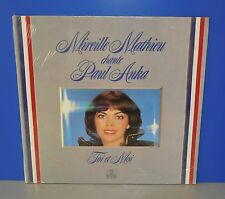 Mireille Mathieu chante Paul Anka Toi et Moi D Ariola still sealed ovp Vinyl LP
