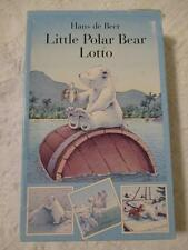 Hans de Beer Little Polar Bear Lotto Game Cute!  Complete