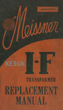 Meissner I-F Transformer Replacement Manual * PDF * CDROM