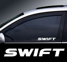 2 x Suzuki Swift Window Decal Sticker Graphic *Colour Choice*