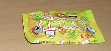 Gogos FRIKIS UNOPENED PACK 3 Frikis, 4 Stickers and a Checklist per pack