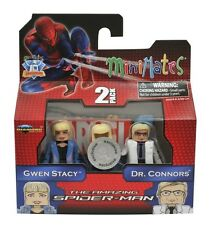 GWEN STACY and DR. CONNORS minimates NEW mini mates diamond select exclusive