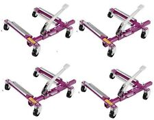 Set of 4 - GoJak G4520 Go-Jak SuperSlick Dollies for Vehicles to 4500lbs