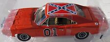 THE DUKES OF HAZZARD GENERAL LEE 1969 DODGE CHARGER 1:18 SILVER SCREEN MACHINES