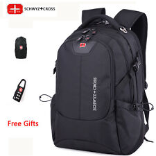 "Free shipping Swiss Bag multifunctional laptop backpack 16"" Travel Bag Schoolbag"