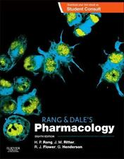 Like New-Rang & Dale's Pharmacology  by 8ed INTL ED