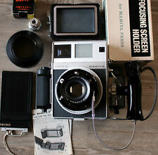 Camera Mamiya Press Super 23 with accessories, beautiful Condition