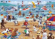 GIBSONS JIGSAW PUZZLE CATS ON HOLIDAY PETER ADDERLEY 500XL PCS G3508 ANIMATION