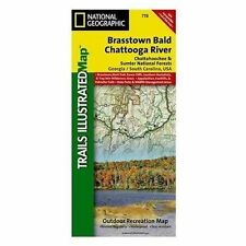 National Geographic Trails Illustrated Map Brasstown Bald / Chattooga River,...