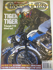 Classic Bike Magazine May 1994 Tiger Triumph T110 shoot-out BSA Blue Star Harley