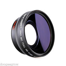 58mm Pro Mc Full HD 0.45X Super Wide Angle Macro Fisheye Effect Conversion Lens