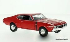 Oldsmobile 442  1968 rot  - 1:24 WELLY