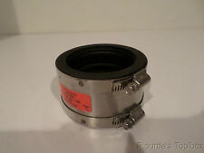"""New Mission Rubber Co. 3"""" XHCI/PL to 3"""" SS Band-Seal Coupling, PS 33"""