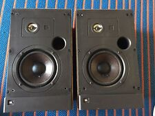 "JBL 52T OAK 2 Way 5"" Loud Speakers 8 ohms Vintage Great For Turntable LP Studio"