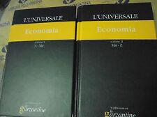 L' UNIVERSALE. ECONOMIA (IN 2 VV) - LE GARZANTINE N.19/20 - IL GIORNALE su lic.