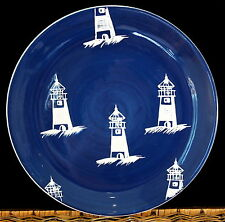 AT HOME INTERNATIONAL BY the SEA TRISH RICHMAN  -- (5) DINNER PLATES PLATE SET