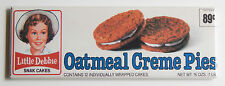 Oatmeal Creme Pie FRIDGE MAGNET (1.5 x 4.5 inches) box wrapper cream sign
