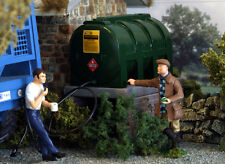 1/32 SCALE FUEL OIL DERV TANK FOR BRITAINS, BRUSHWOOD FARM DIORAMA WM061
