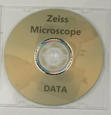 Zeiss microscope data manuals, guides, vintage reference materials brochures