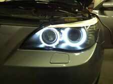 BMW E60 E61 LCi Angel Eye Halo Bague de mise à niveau LED Marqueur 6000K 10W 5 series XENON