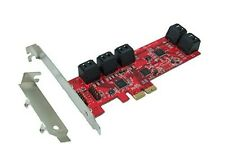 Ableconn PEX10-SAT 10 Port SATA 6G PCI Express Host Adapter Card - AHCI 6 Gbps