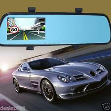 "HD 1080P 2.4"" Car Video Recorder Dash Cam Rearview Mirror Monitor Camera DVR Cam"