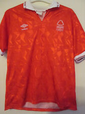 Nottingham Forest 1990-1992 Home Football Shirt Size Large /35366